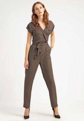 Vila VIABOVE - Jumpsuit - black olive - Zalando.de   kostüm optionen ... 924cd2d5c46