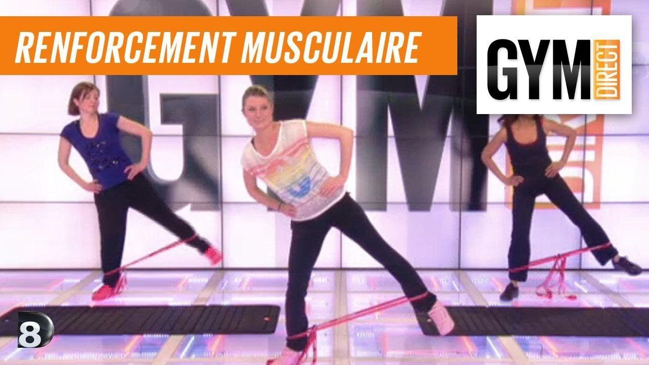 Exercice de musculation avec un élastique - Renfort