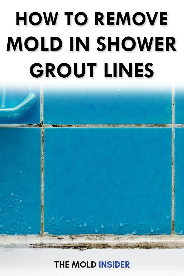 How To Remove Mold From Shower Wall Grout Shower grout