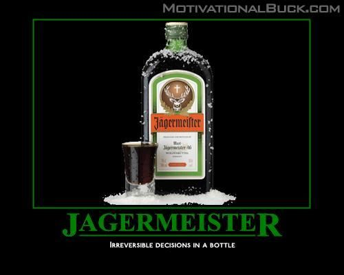 You want the truth? Ok... here it goes. Jager- poor man's ...