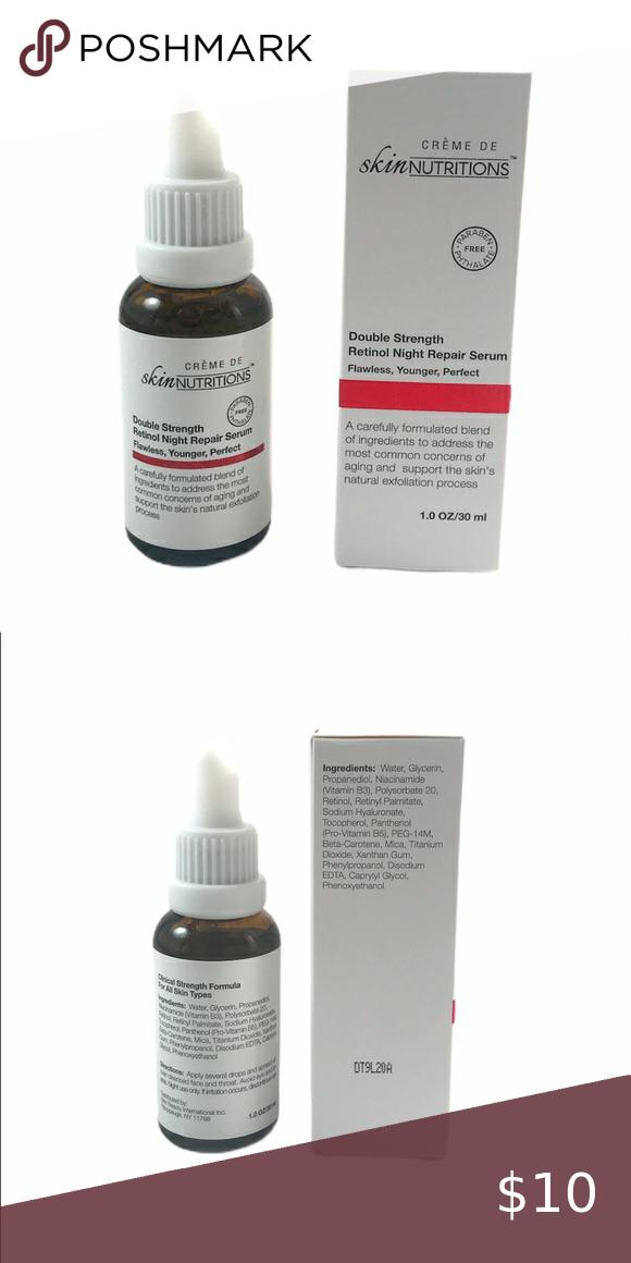 Double Strength Retinol Night Repair Serum : double, strength, retinol, night, repair, serum, ⤵️🆕Double, Strength, Retinol, Night, Repair, Serum, Retinol,, Nutrition,, Paraben, Products