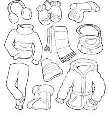 Winter Coloring Pages Coloring Pages Winter Kindergarten