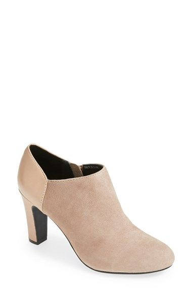 Booties are HOT this season. Here is one of my favorite with heels | 40plusstyle.com