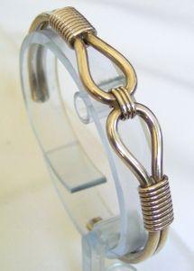 Sterling Silver Native American Navajo Knot Cuff Bracelet $38