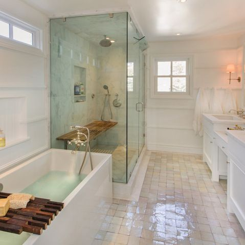 Steam Shower Like Teak Bench Not So Cold Like Tub Too MBR - Steam cleaner for bathroom for bathroom decor ideas