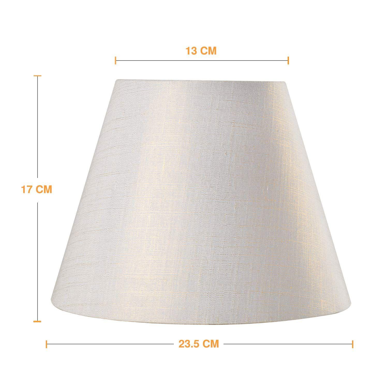 Lamp Shade Imisi Linen Fabric White Lamp Shade Small 5 Top