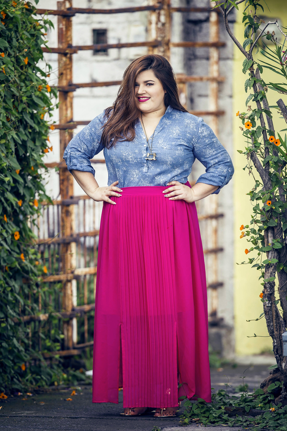 La Fatshionista, Plus Size Fashion Blogger, Plus Size Sheer Dress ...