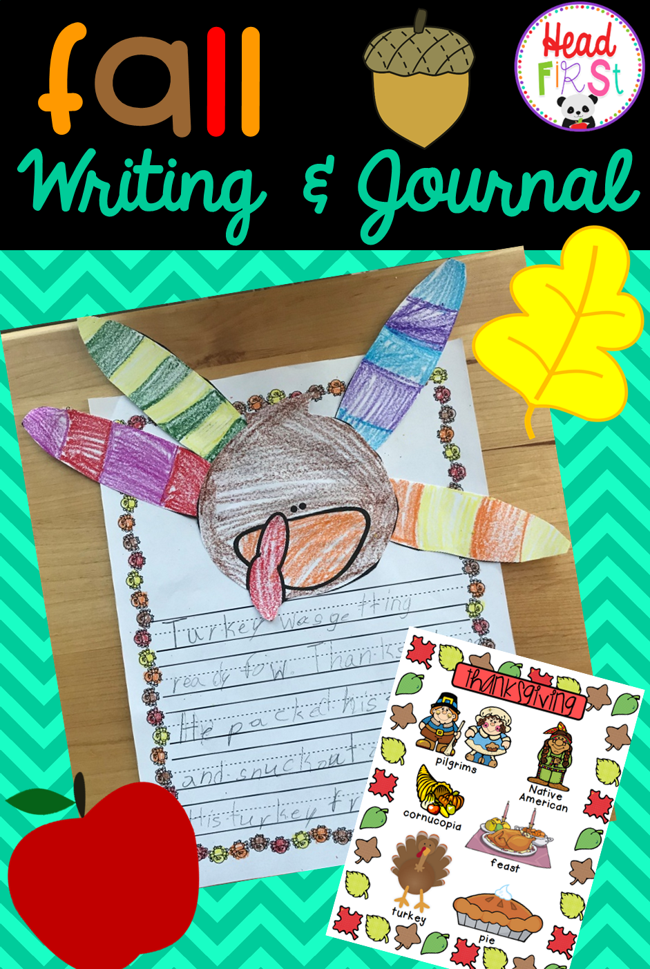 Editable Writing Prompts, Journals, Paper, Page Toppers