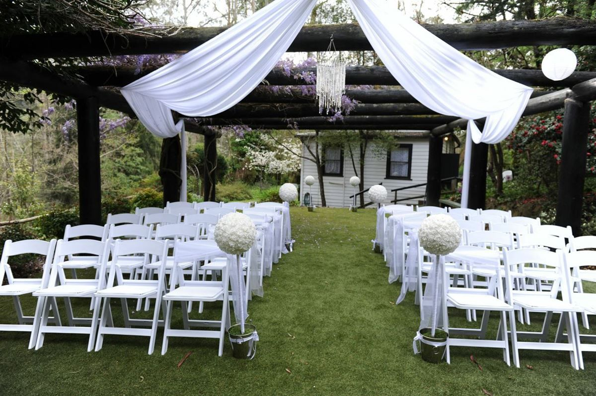 Wedding Venues Yarra Valley Dandenong Ranges Chateau Wyuna Venue