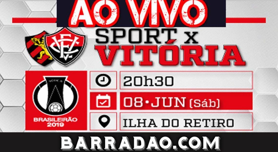 Assistir Sport x Vitória ao vivo no Barradão qualidade HD