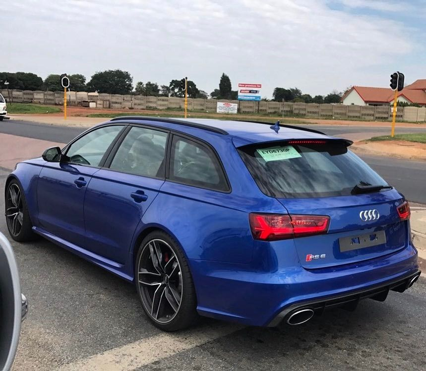 Sepang Blue Audi RS6 Spotted In Kempton Park By @jacques