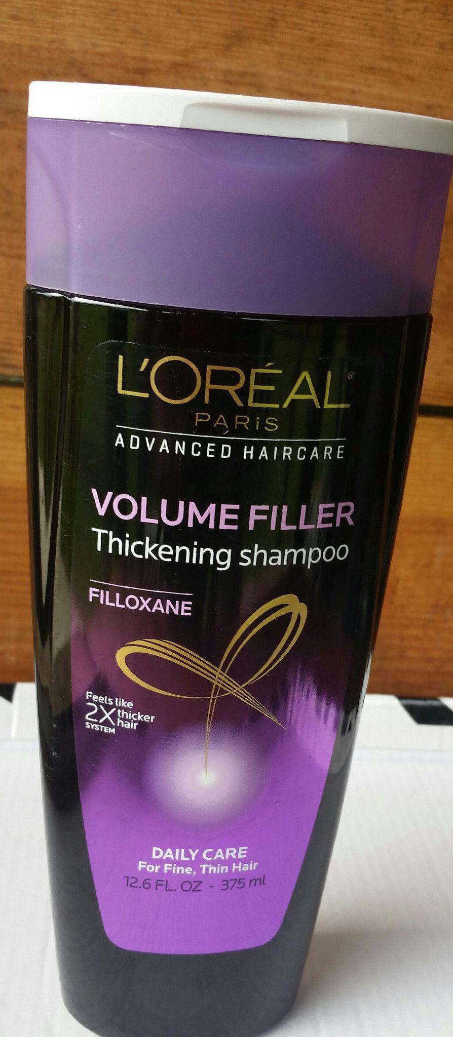 loreal volume filler shampoo Loreal, Thickening shampoo