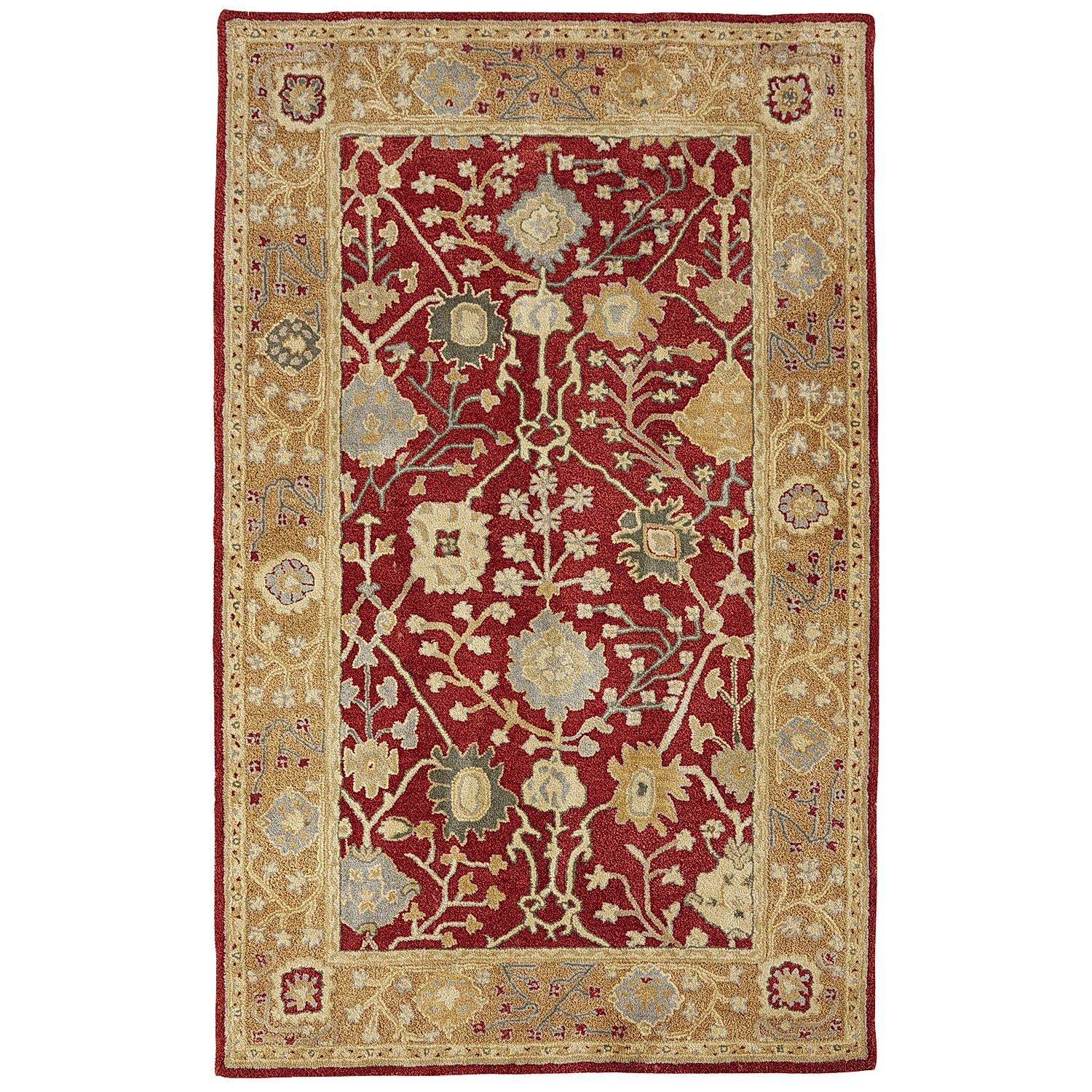 Sanborn Traditional Wool Rug Spice 8x10 Area Rugs Rugs Wool Rug