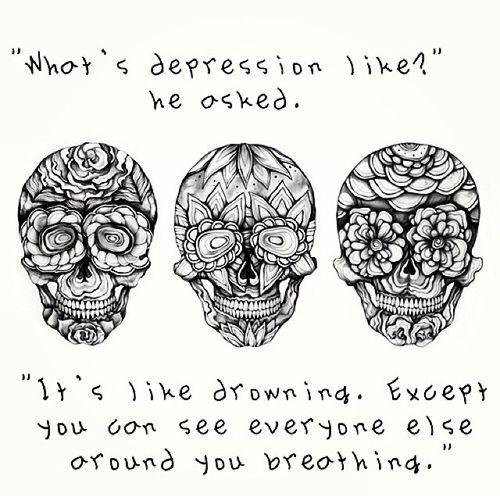 Beating Depression Quotes About Tattoos Quotesgram: Tumblr Quotes Truth Depression
