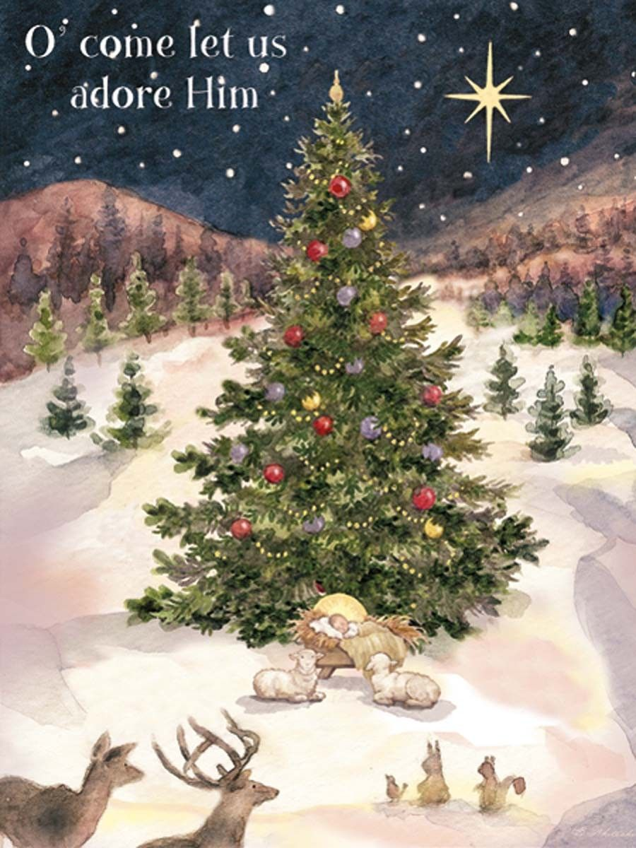 Let Us Adore Him Christmas Cards by Susan Winget. So gorgeous--and ...