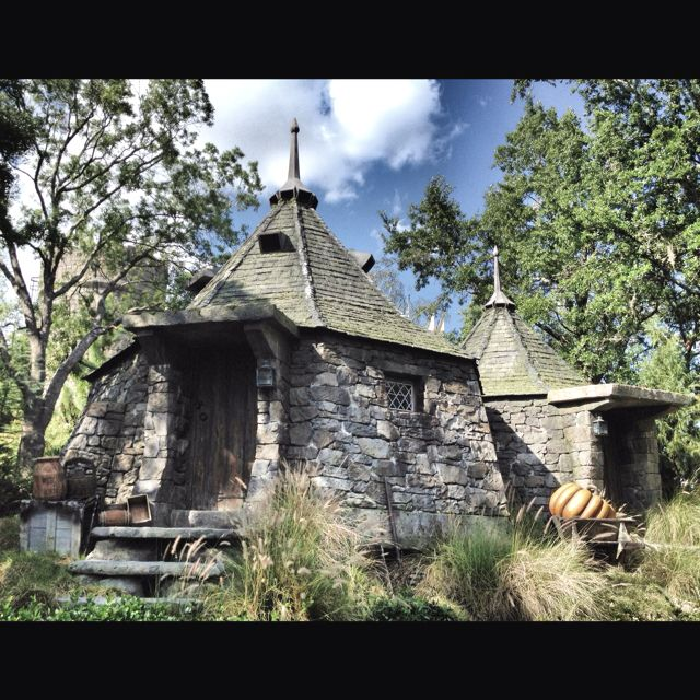 Awesome Orlando Fl Houses For Rent Apartments: Hagrid's Hut. Wizarding World Of Harry Potter, Universal