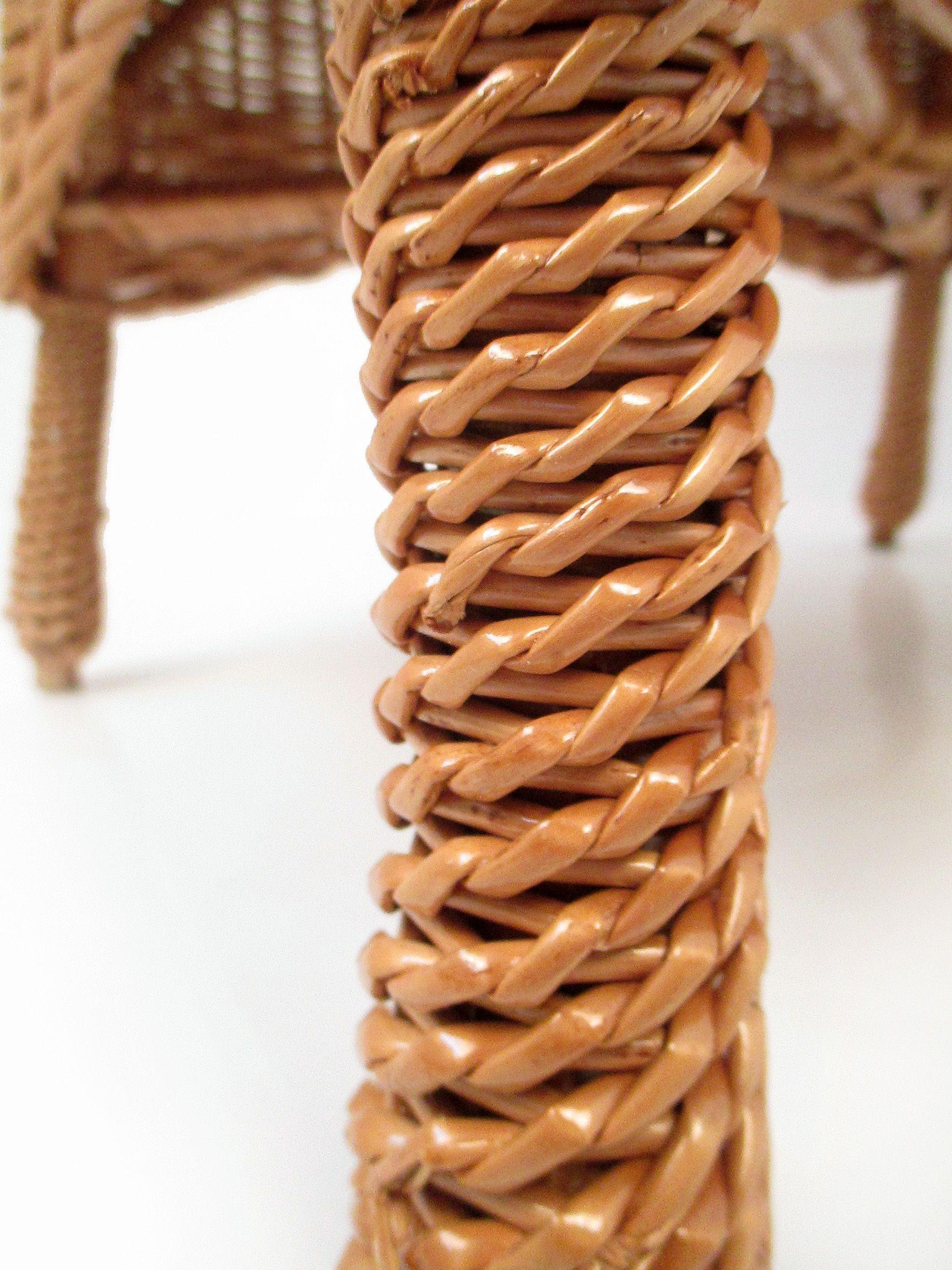 Ezekben a könnyen mozgatható vessző fotelekben a nagy nyári