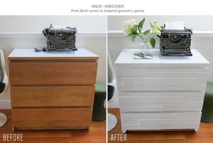 Malm Dresser Geometric Makeover Malm Dresser Ikea Dresser Makeover Ikea Malm Dresser