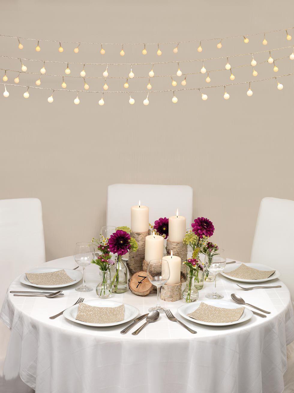 Ideen Und Tischdekoration Fur Eine Entspannte Landhochzeit Wedding