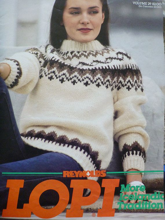 Ladies and mens Icelandic Sweater knitting patterns - 401 ...