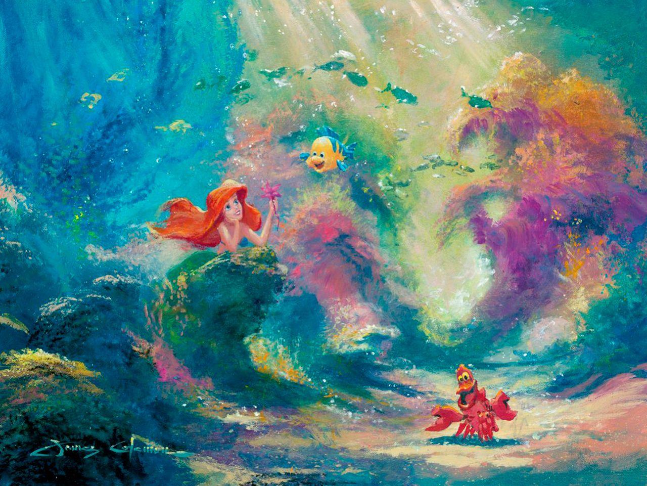 Disney Art The Little Mermaid Quotes Tumblr