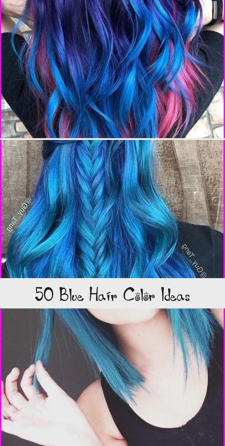 50 Blue Hair Color Ideas Thanks To The Rainbow Hair Trend A