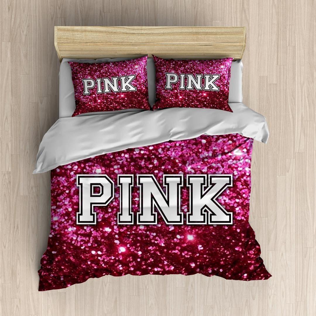 Victoriassecret Pink Pinknation Girly Bedding Duvet
