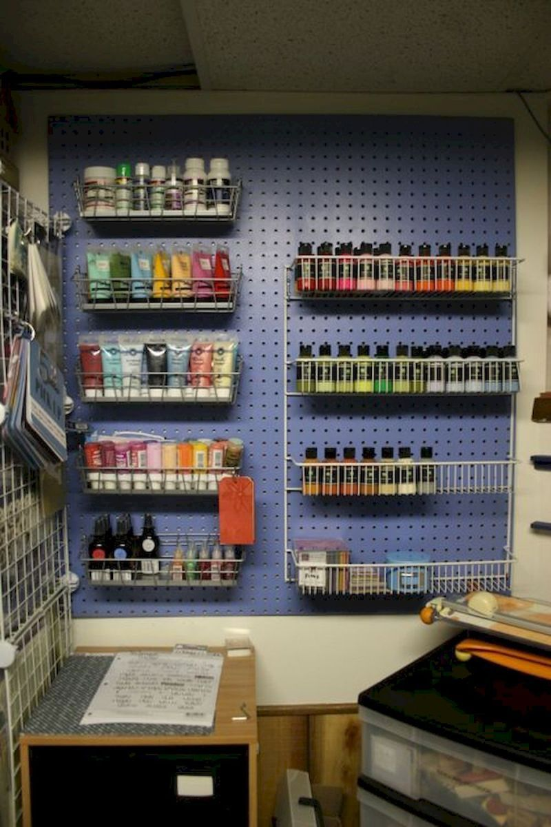 65 Amazing Diy Art Studio Small Spaces Ideas 1 With Images Art Studio At Home Art Studio Storage Small Art Studio