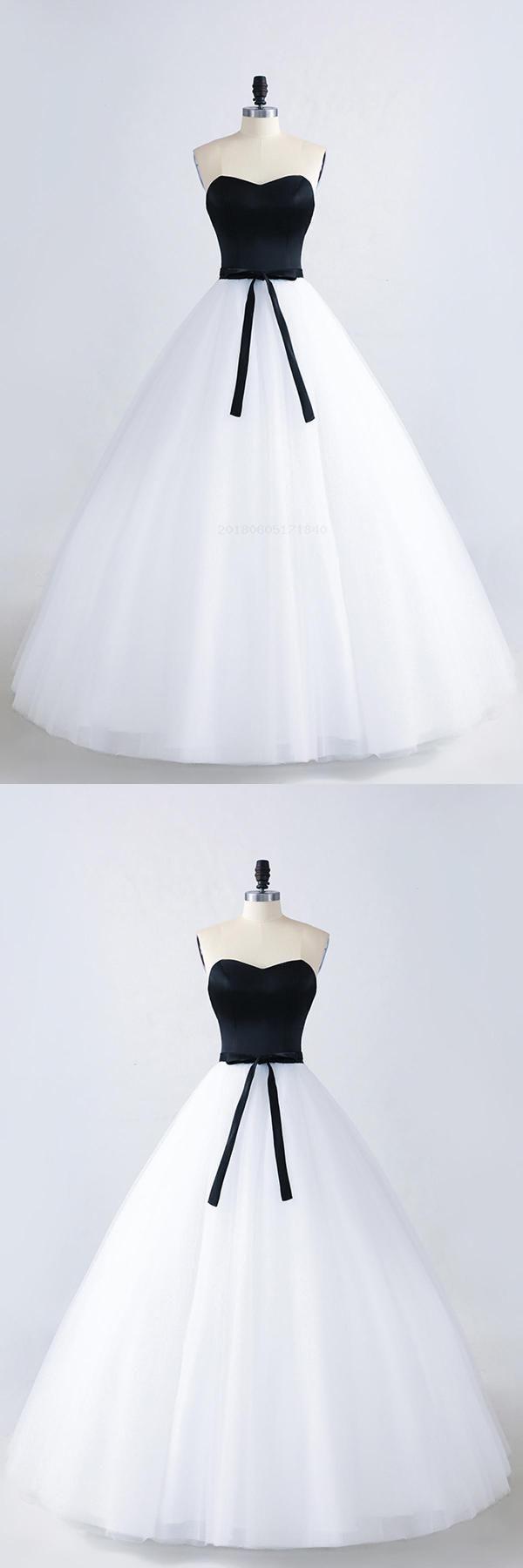 Black lace white black lace qprom bridesmaid dresses