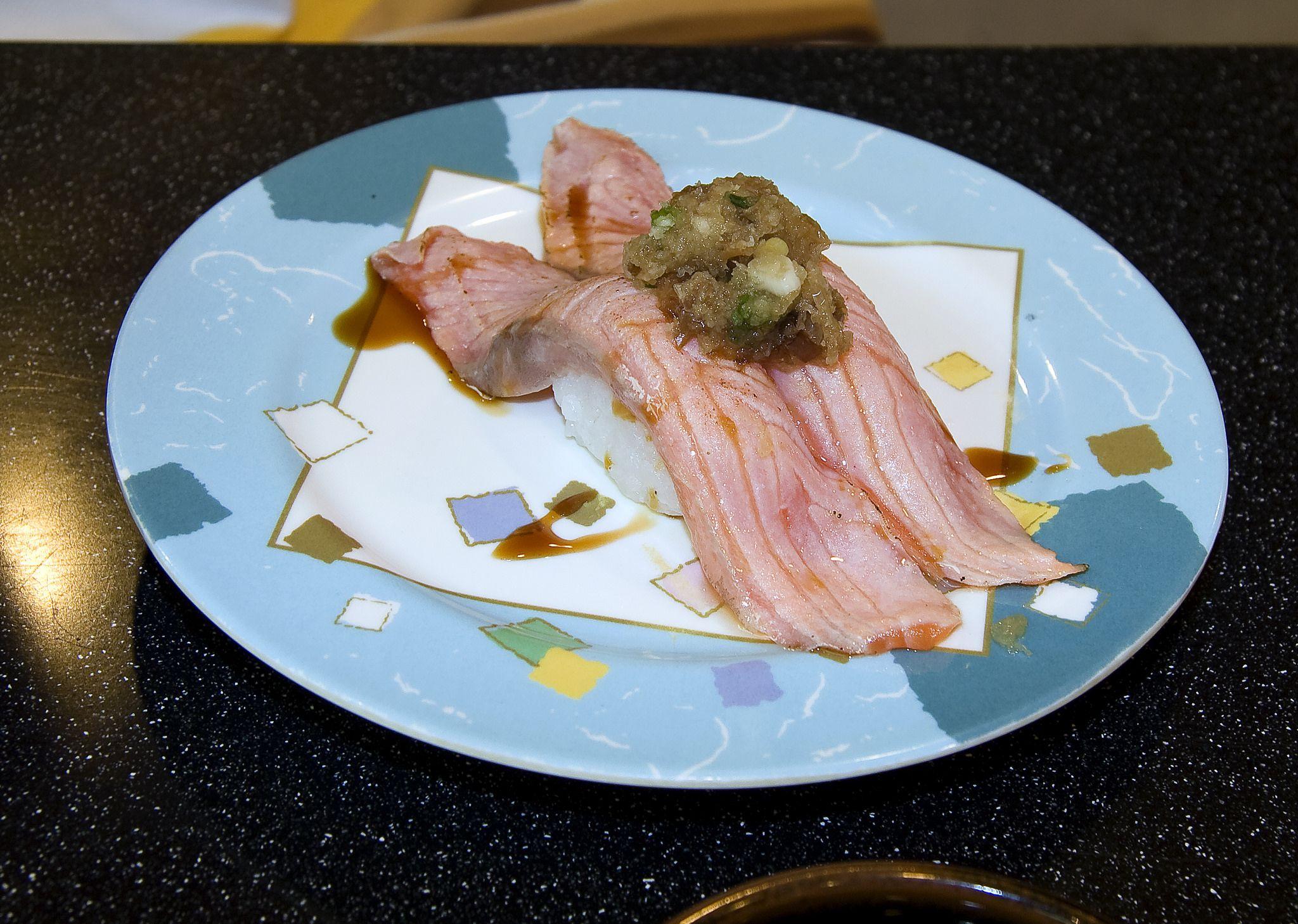 https://flic.kr/p/pf9NUf | aburi sushi : 살짝 데운 스시 | 이런 맛도 신선한 매력입니다