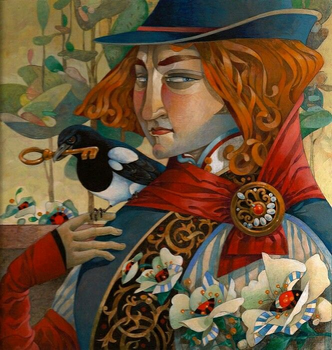 David galchutt paintings david arte e arte figurativo for Arte delle torte clementoni