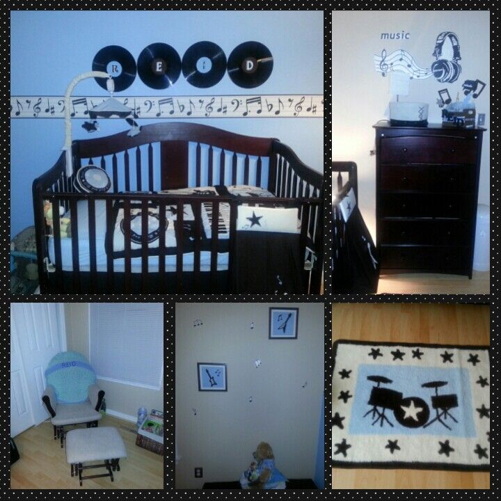 My Music Themed Nursery
