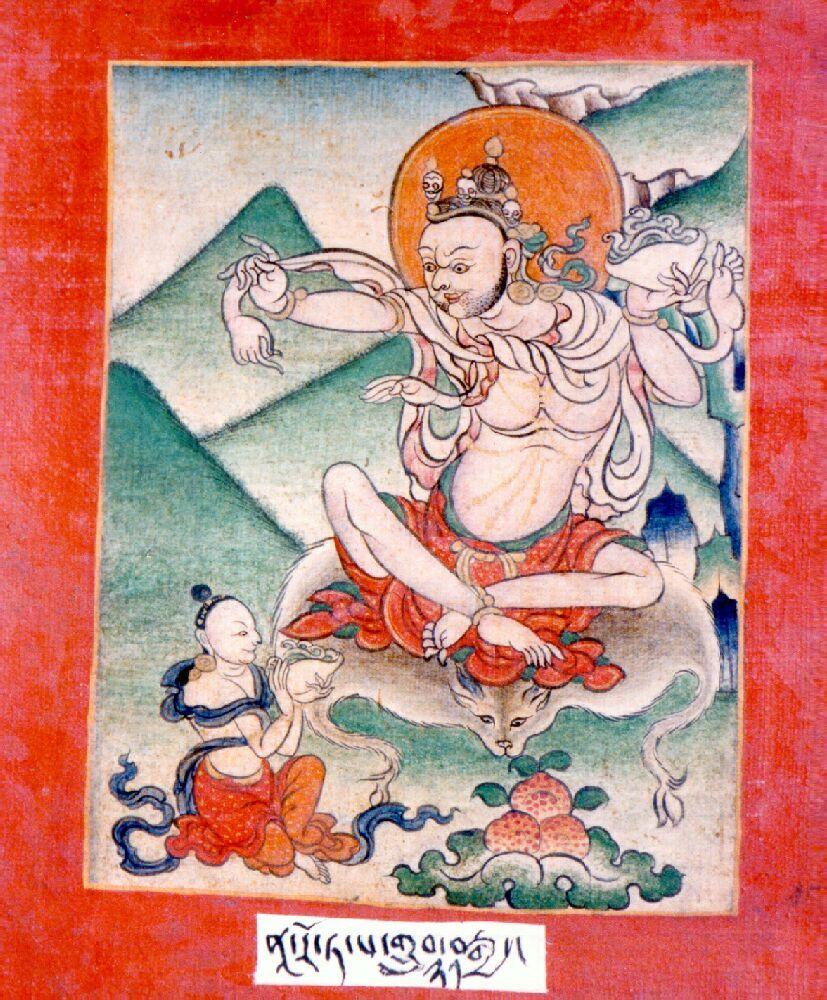Indian Adept (siddha) - Naropa