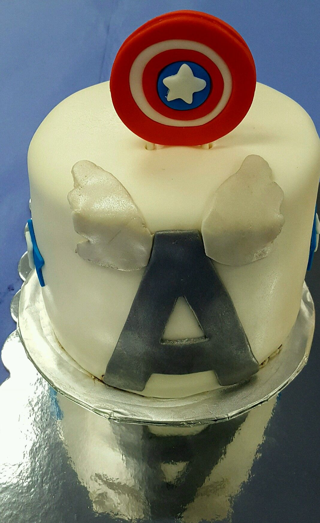 Wickedly Pinkfacebook Captain America Cake Birthday Cake Boy Cake