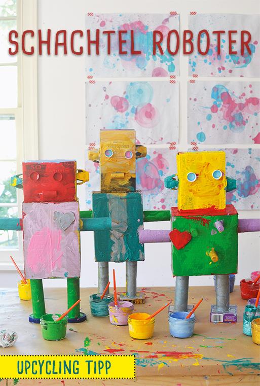 roboter basteln roboter aus papier basteln mit kindern pinterest basteln roboter und. Black Bedroom Furniture Sets. Home Design Ideas