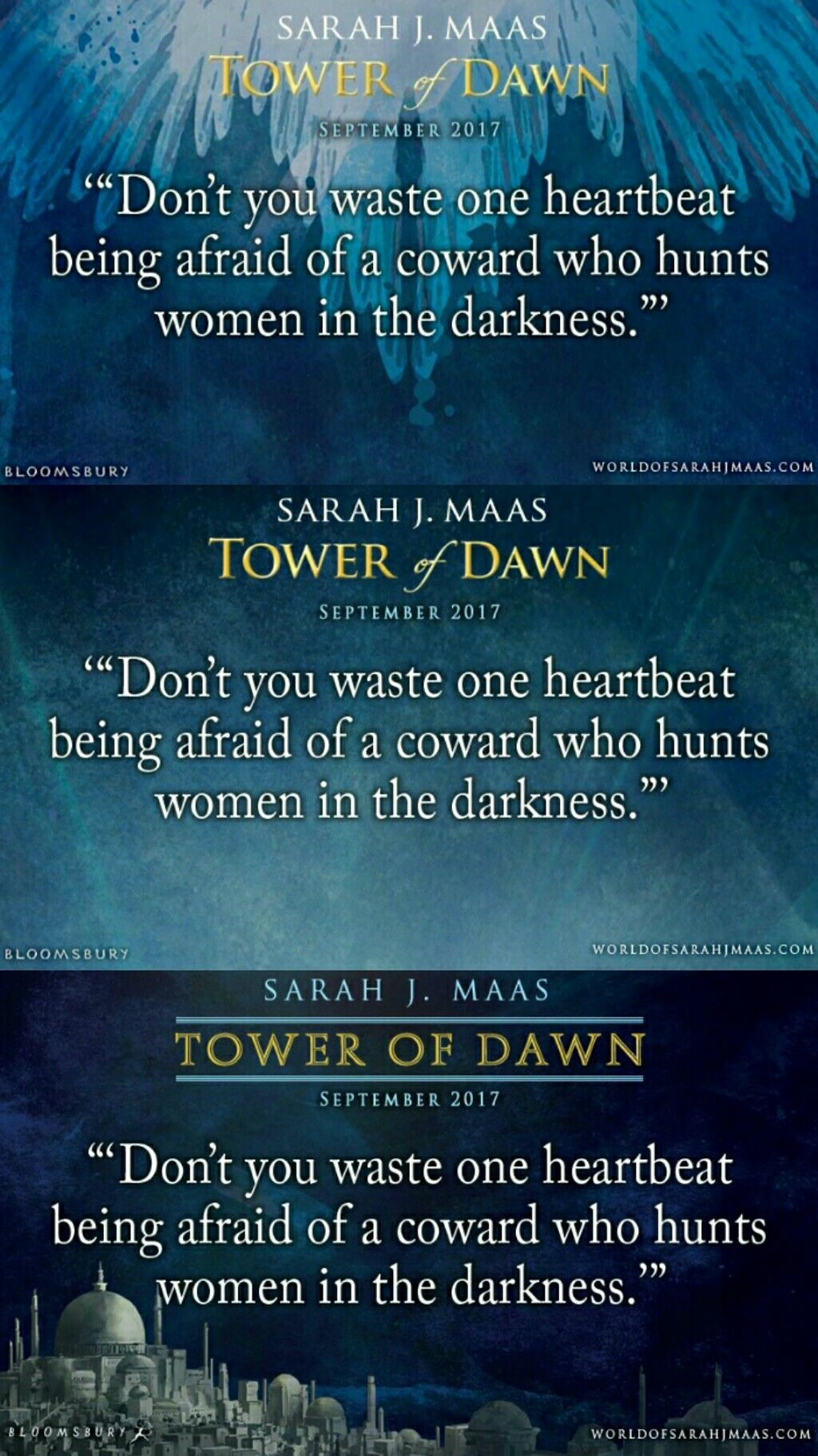 First Quote Tower Of Dawn Sarah J Maas Madness In 2018