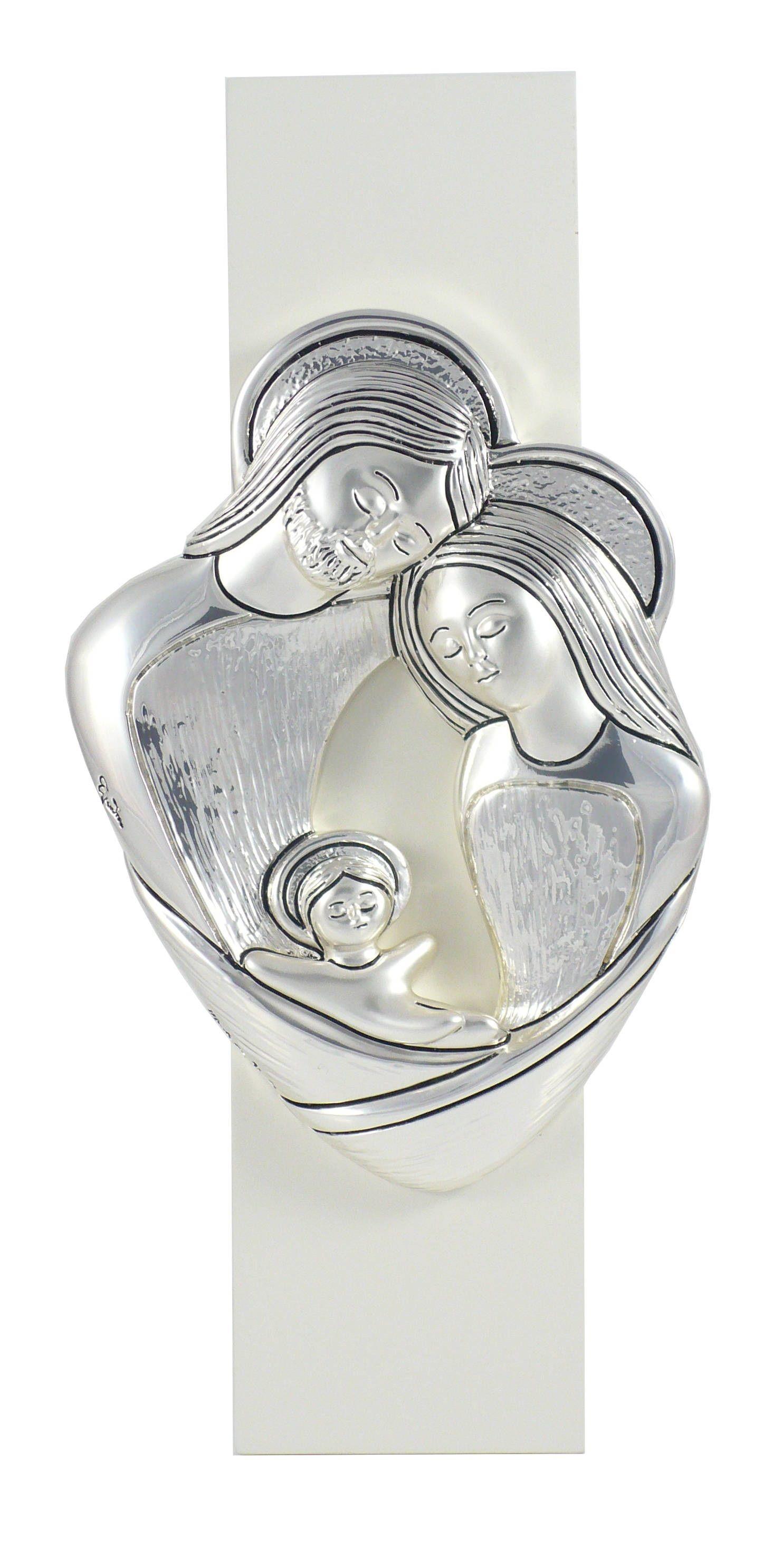 Obrazek trójwymiarowy Święta Rodzina prezent na chrzest