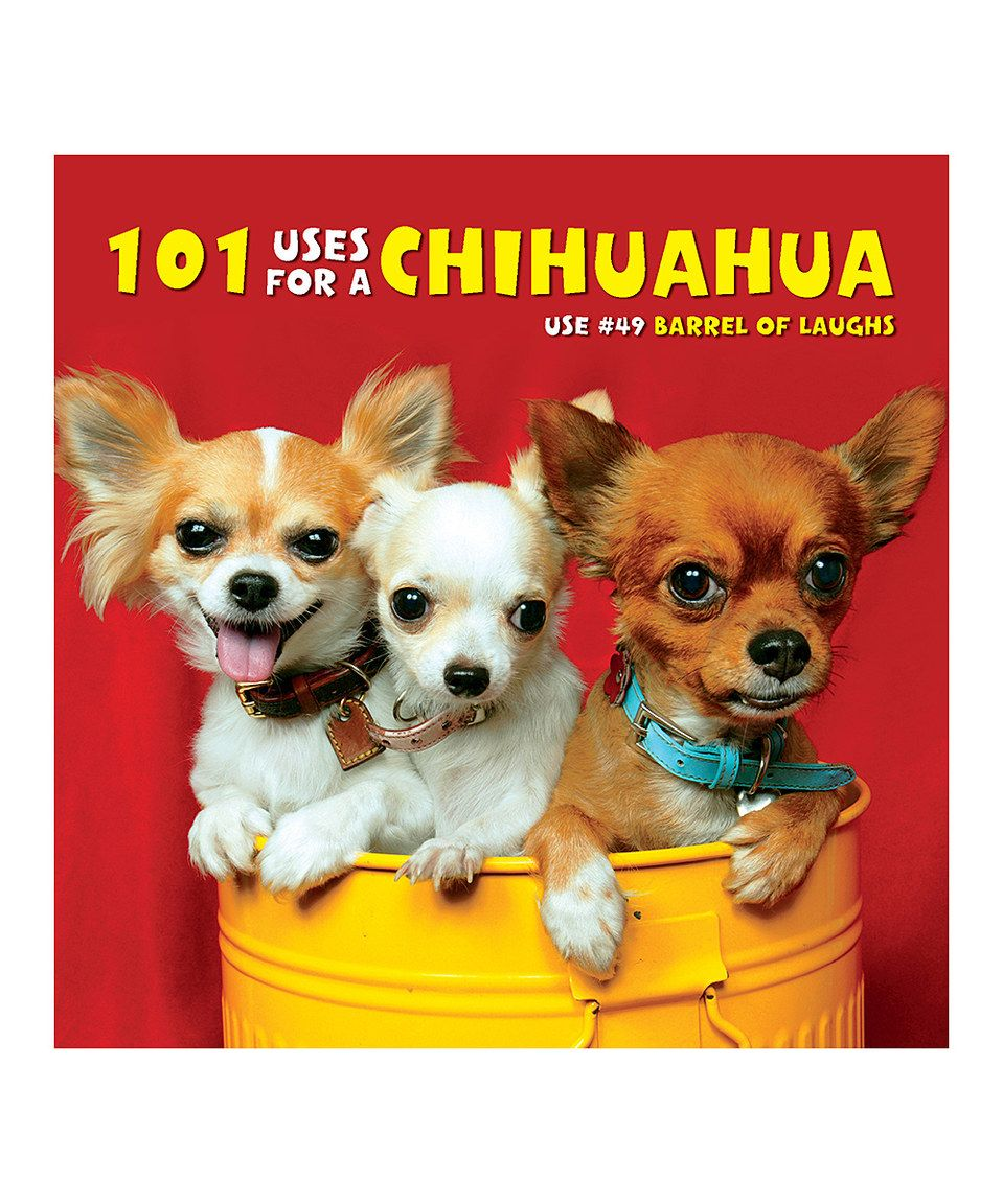101 Uses For A Chihuahua Hardcover By Willow Creek Press Zulily