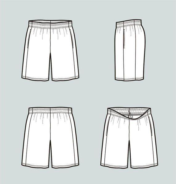 sports shorts vector