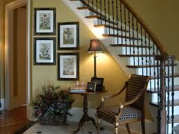 Decorating Foyer With Mirrors : Need help with decor curved staircase in foyer? mirror hardwood