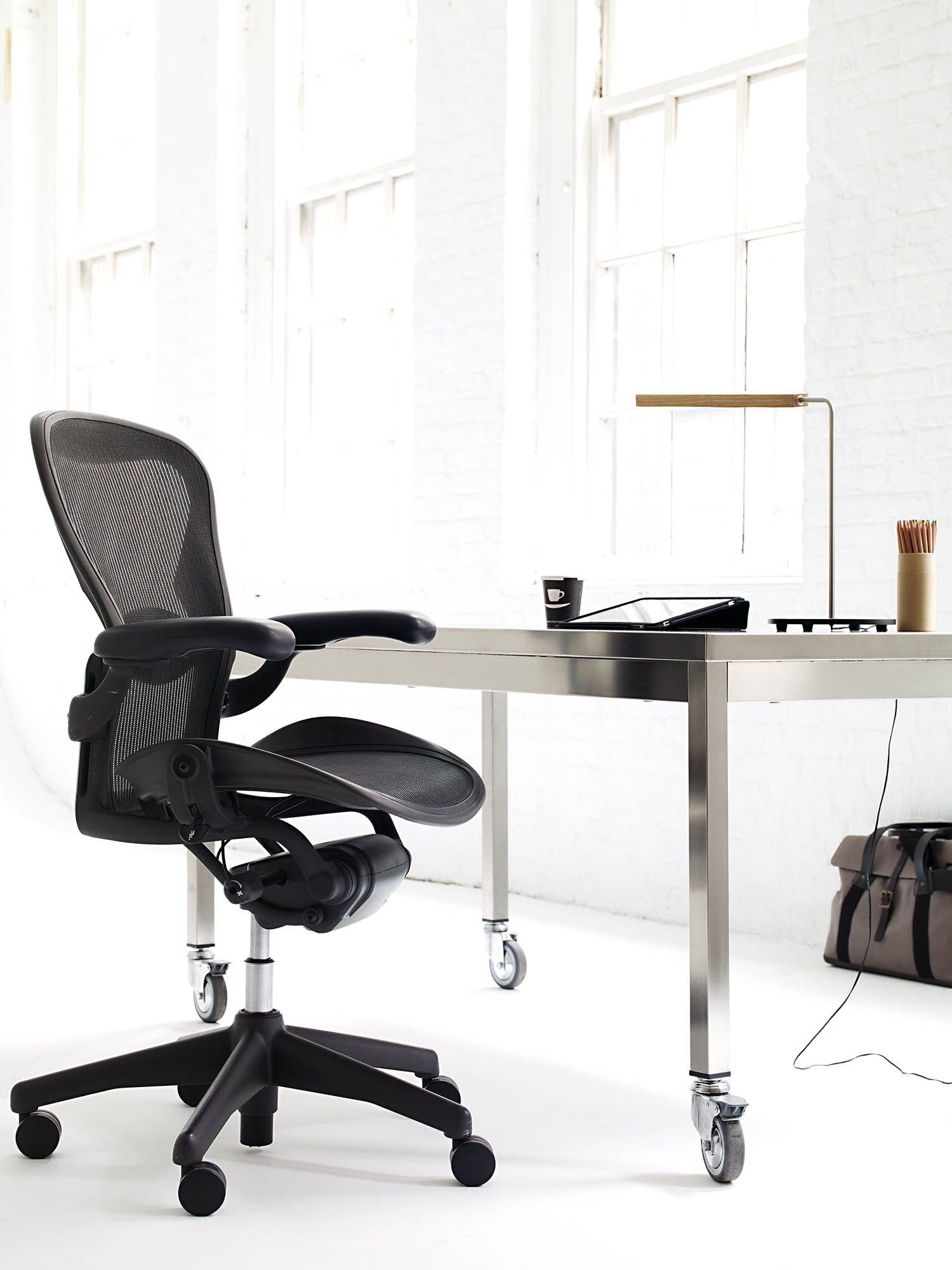 Aeron® Chair - Lumbar Support  Designed by Don Chadwick and Bill Stumpf