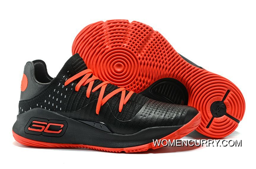793d6602d92f UA Stephen Curry 4 Black Red Low Basketball Shoe For Sale Big Boys Youth Jeunesse  Shoes. https   www.womencurry.com latest-under-armour-