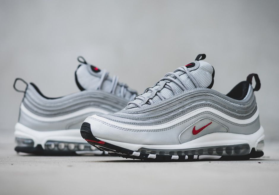 1725922fa93b33 The Nike Air Max 97 Silver Bullet (Style Code  884421-001) will release on  January 14