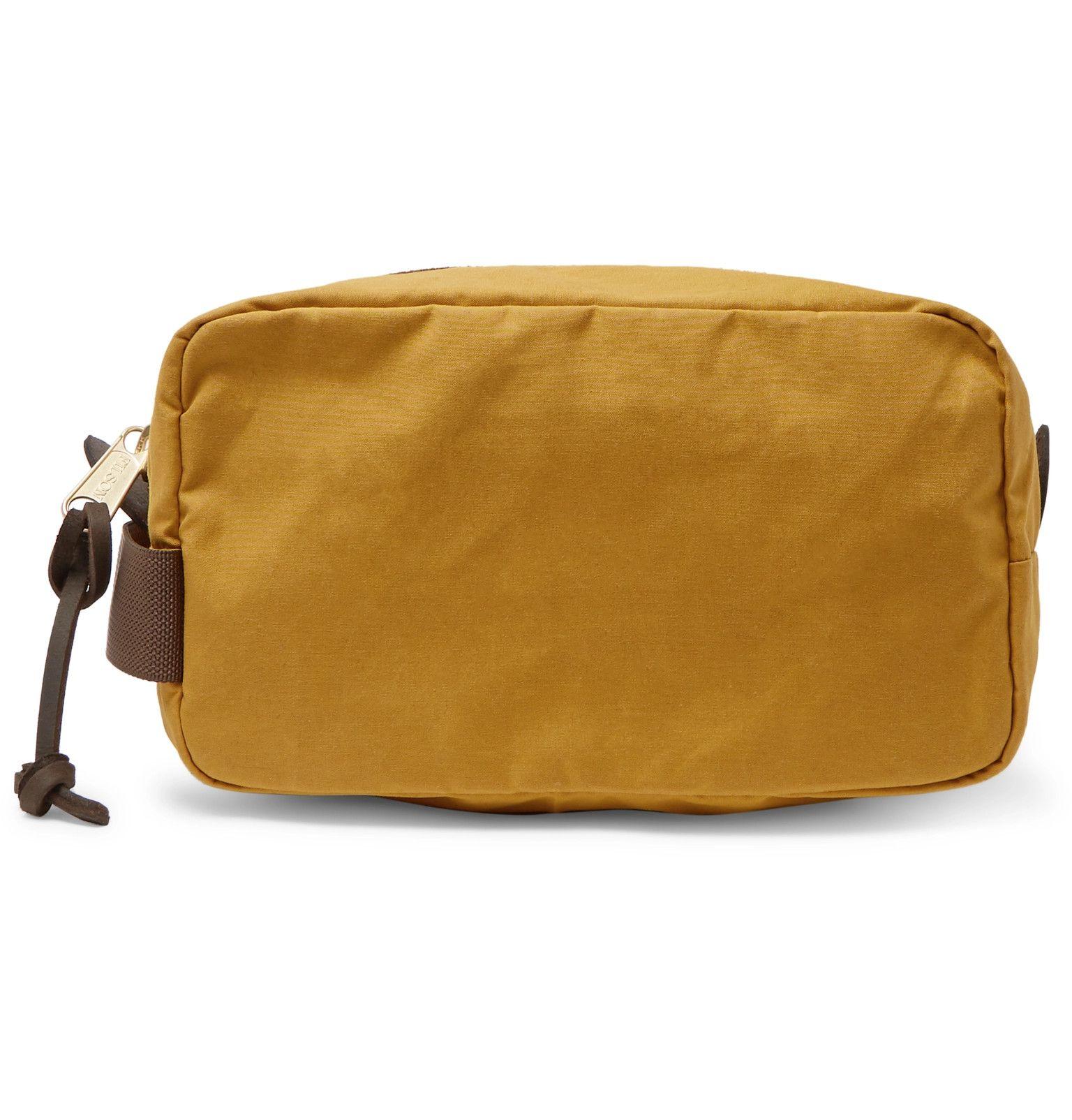 Filson Canvas Wash Bag