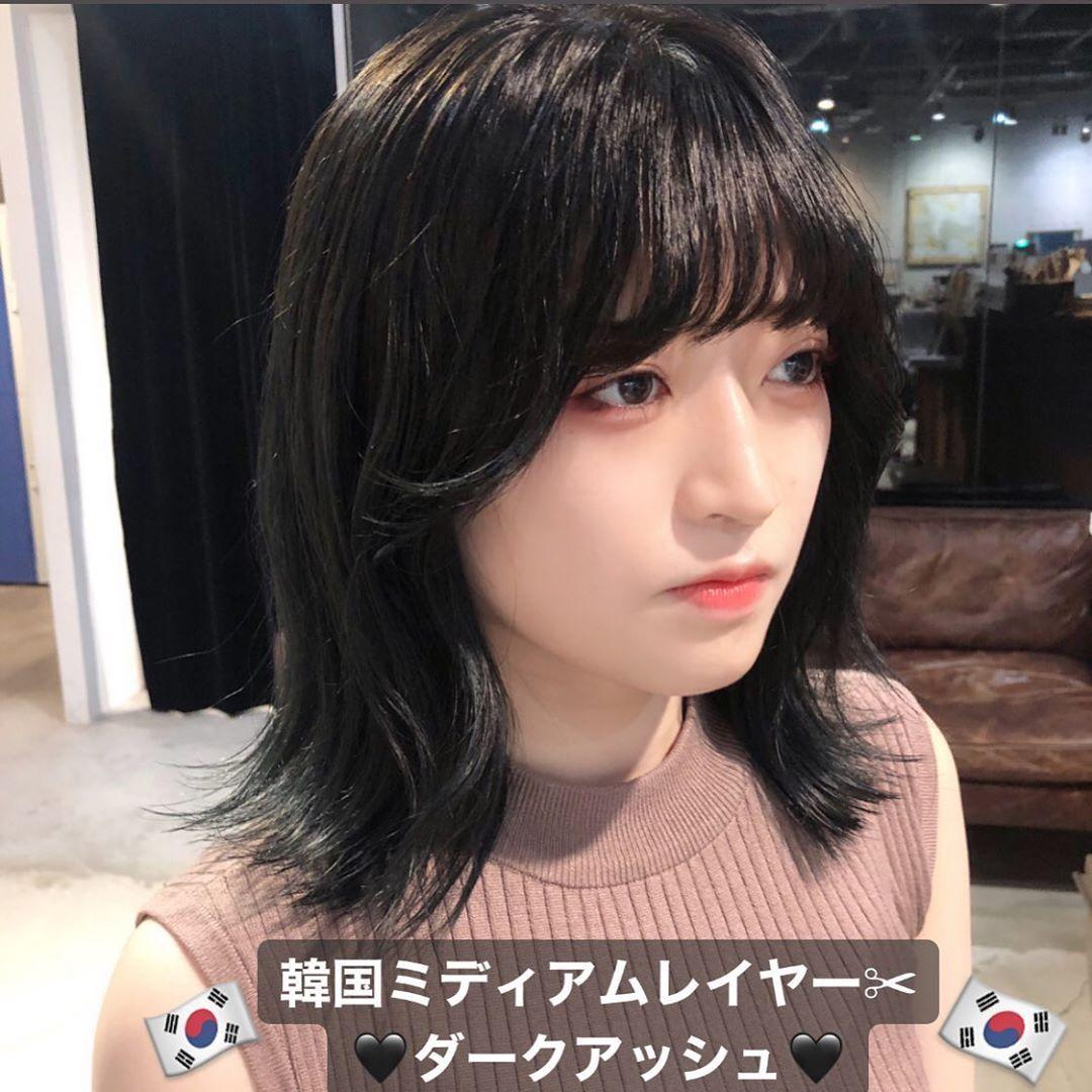 ボード 韓国ヘア のピン