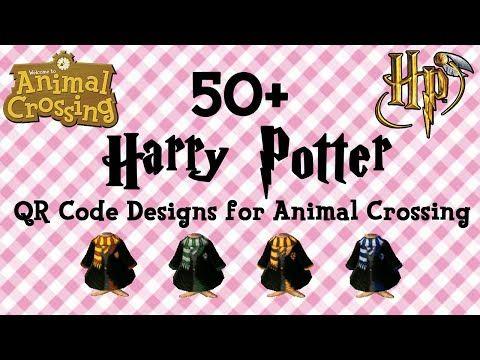 All 50+ Harry Potter QR Code Animal Crossing New Horizons