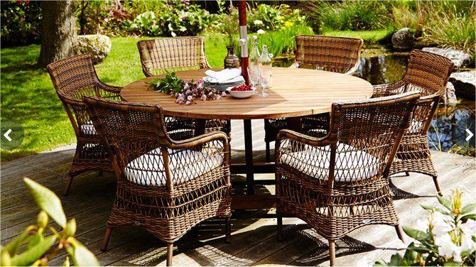 Sika Design Gartengarnitur Set George & Marie | Garten