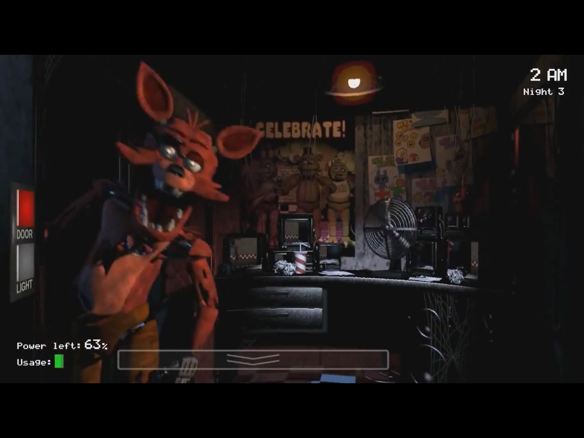Foxy Jumpscare   FNAF JUMPSCARES   Birthday cake toppers
