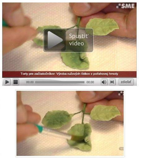 Video: Ako vyrobiť ružové lístky z poťahovej hmoty - Tortyodmamy.sk