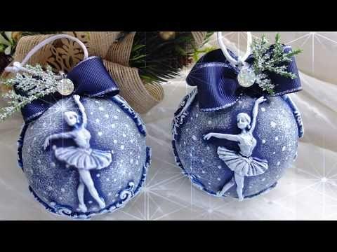 Декорируем елочные шары лепниной – бесплатный мастер-класс ...